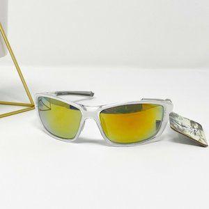 Panama Jack Sport Sunglasses Mirrored Clear Silver